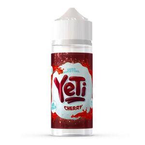Yeti Cherry 100ml Eliquid Shortfill Flaska