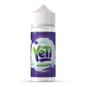 Yeti Honeydew Blackcurrant 100ml Eliquid Shortfill Flaska