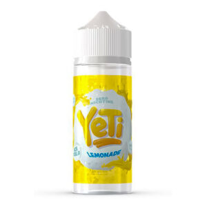 Yeti Lemonade 100ml Eliquid Shortfill Flaska