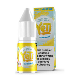 Yeti Lemonade Salt Nikotin Eliquid 10 ml flaska med låda