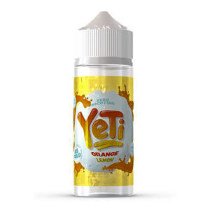 Yeti Orange Lemon 100ml Eliquid Shortfill Flaska