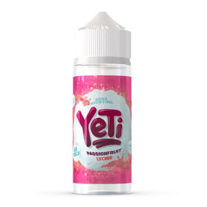 Yeti Passionfruit Lychee 100ml Eliquid Shortfill Flaska
