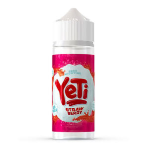 Yeti Strawberry 100ml Eliquid Shortfill Flaska