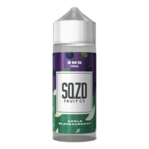 Sqzd Apple sólber 100 ml Eliquid Shortfill flaska