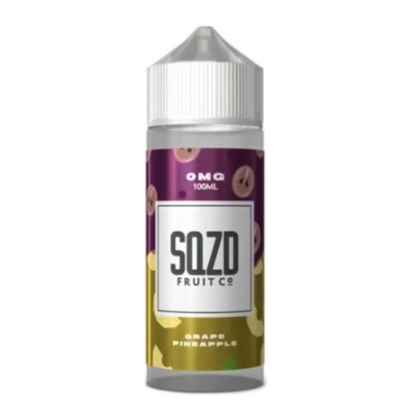 Sqzd Grape Pineapple 100ml Eliquid Shortfill Bottle