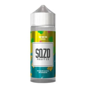Sqzd Tropical Punch 100 ml Eliquid Shortfill Bottle