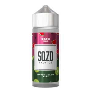 Sqzd Watermelon Kiwi 100ml Eliquid Shortfill Flaske
