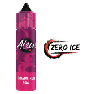 Aisu Zero Ice Dragon Fruit 50ml Eliquid Shortfill flaska