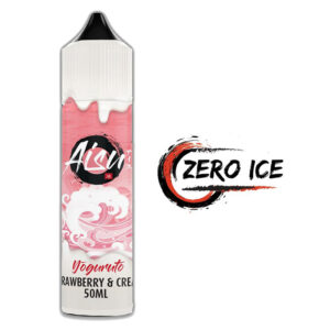 Aisu Zero Ice Strawberry And Cream 50ml Eliquid Shortfill flaska