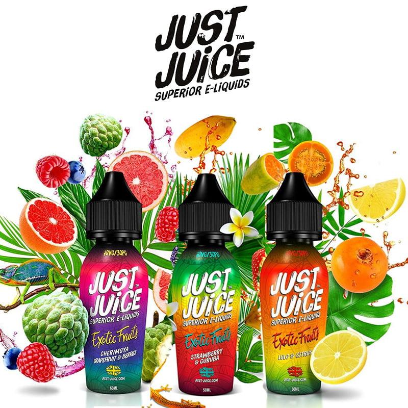 Just Juice Exotische vruchten Shortfills