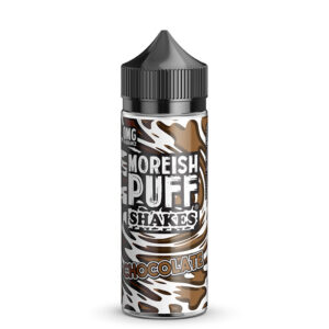 Moreish Puff Shakes Choklad 100ml Eliquid Shortfill Flaska