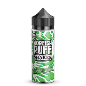 Moreish Puff Shakes Shamrock 100ml Eliquid Shortfill Flaske