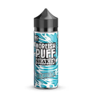 Moreish Puff Shakes Vanilj 100ml Eliquid Shortfill Flaska