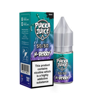 Pukka Juice 5050 H Berry 10ml Eliquid Bottle With Box