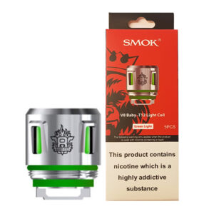 Smok V8 Baby T12 Light Up vervangende vape-spoelen