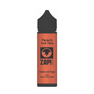 Zap Peach Ice Tea Shake N Vape Eliquid Flavour Concentrate 20 ml flaske af Zap Juice