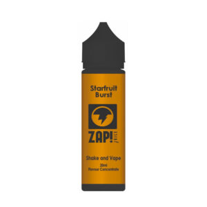Zap Starfruit Burst Shake N Vape Eliquid Bragðþykkni 20ml Flaska By Zap Juice