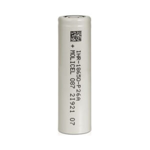 Molicel P26a Inr 18650 Rechargeable Vape Battery 2600mah 25a