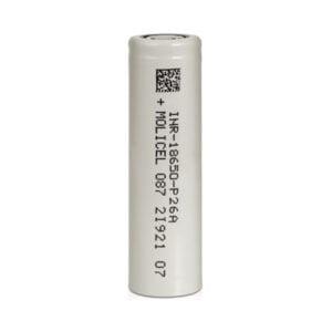 Molicel P26a Inr 18650 Uppladdningsbart Vape-batteri 2600mah 25a