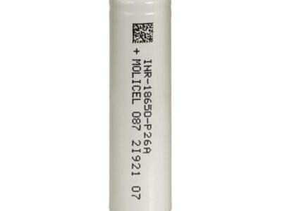 Molicel P26a Inr 18650 bateria recarregável Vape 2600mah 25a