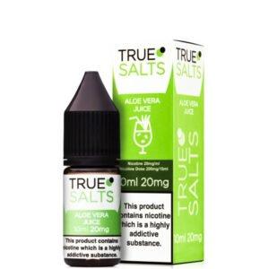 Aloe Vera Juice 10 ml Nic Salt Eliquid pudele ar kastīti ar patiesiem sāļiem