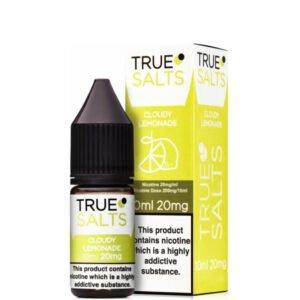 Cloudy Lemonade 10ml Nic Salt Eliquid fles met doos van True Salts