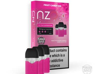 Fruit Candy Ice Pukka Juice Nzo Prefilled Pods