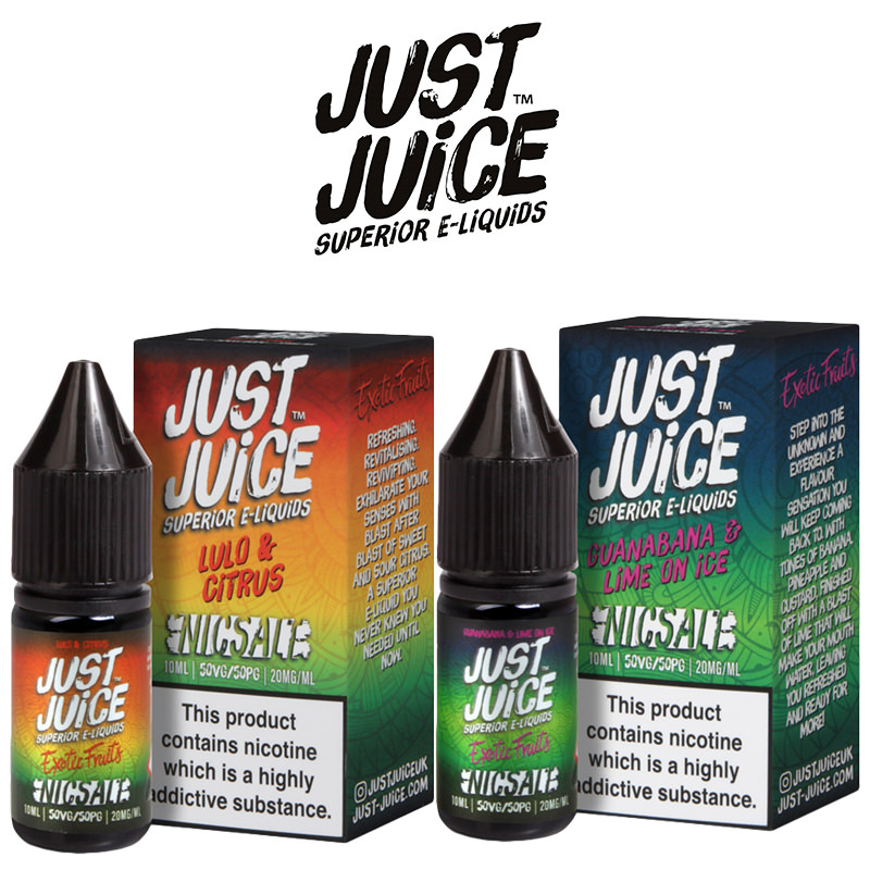 Just Juice Exotic Fruits Nic Salt