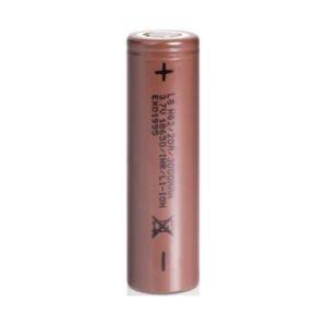 LG Hg2 18650 uppladdningsbart Vape-batteri 20a 3000mah