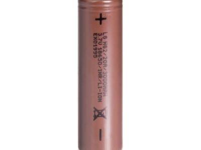Bateria recarregável Vape Lg Hg2 18650 20a 3000mah