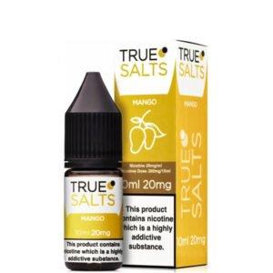 Mango 10ml Nic Salt Eliquid fles met doos van True Salts