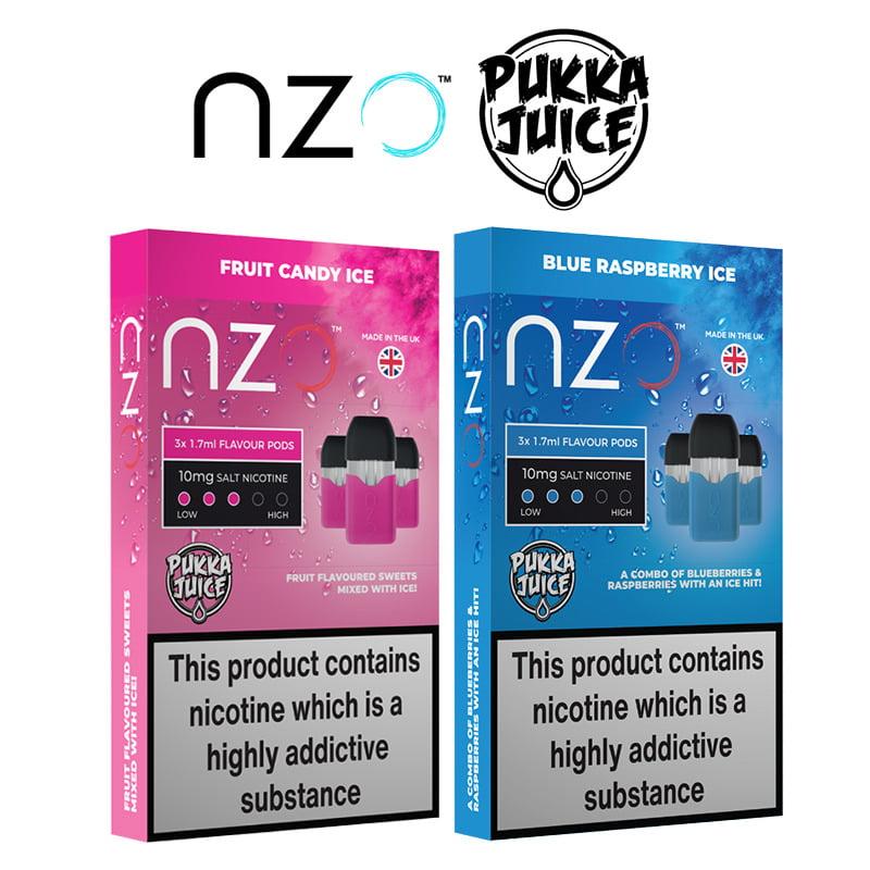 Pukka Juice NZO fyldte bælg