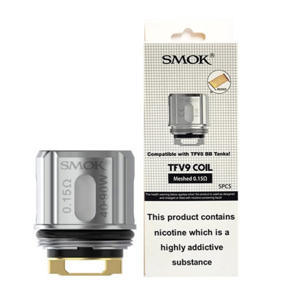 Smok Tfv9 rezerves vape spoles