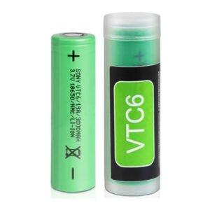 Sony Vtc6 18650 uppladdningsbart Vape-batteri 3000mah