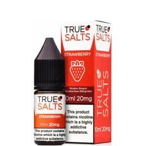 Φράουλα 10ml Nic Salt Eliquid Μπουκάλι με κουτί από αληθινά άλατα