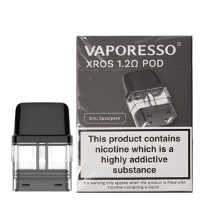 Vaporesso Xros Replacement Pod Cartridge 1.2ohm Pod With Box