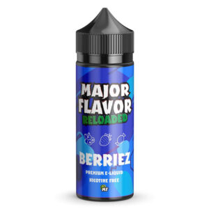 Berriez 100ml Eliquid Shortfill Flaska av Major Flavor Reloaded