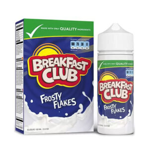 Breakfast Club Frosty Flakes 100ml fljótandi Shortfill Flaska með kassa