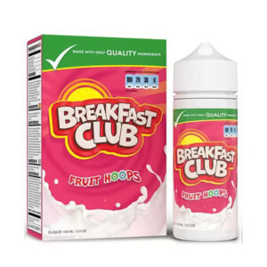 Breakfast Club Fruit Hoops 100ml Eliquid Shortfill Flaska með kassa