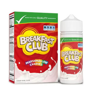 Breakfast Club Marshmallow Charms 100ml Eliquid Shortfill Bottle With Box
