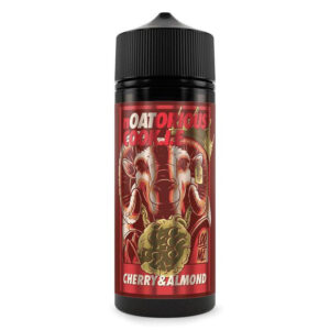 Cherry Almond 100ml Eliquid Shortfill Flaska av Noatorious Cookie Tyv