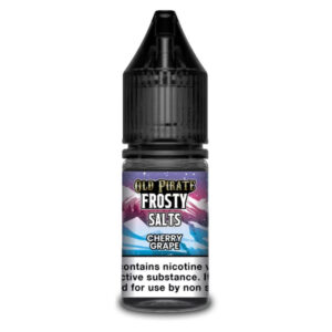 Cereja Grape Nic Salt Eliquid Garrafa 10ml Por Old Pirate Frosty Sais