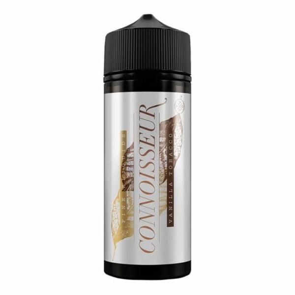 Connoisseur Vanilla Tobacco 100ml Eliquid Shortfill Μπουκάλι από The Yorkshire Vaper