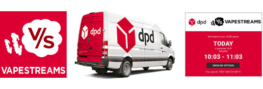 Dpd Shipping Header
