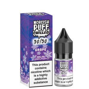 Uva 10ml 50 50 Botella Eliquid Con Caja Por Moreish Puff Chilled 5050