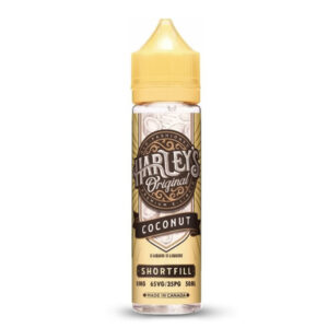 Harleys Original Coconut 50ml Eliquid Shortfill Μπουκάλι
