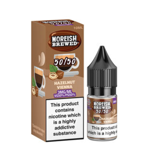 Hazelnut Vienna 10ml 50 50 Eliquid By Moreish Fabricada