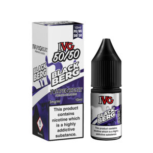 Ivg Blackberg 10ml 50 50 Eliquid Bottle With Box