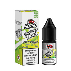 Ivg Kiwi Lemon Cool 10ml 50 50 Eliquid Bottle With Box
