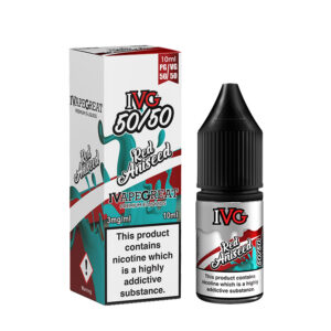 Ivg Red Aniseed 10ml 50 50 Eliquid Bottle With Box